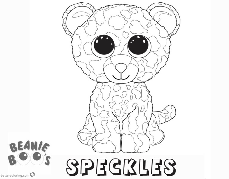 Beanie Babies Coloring Pages