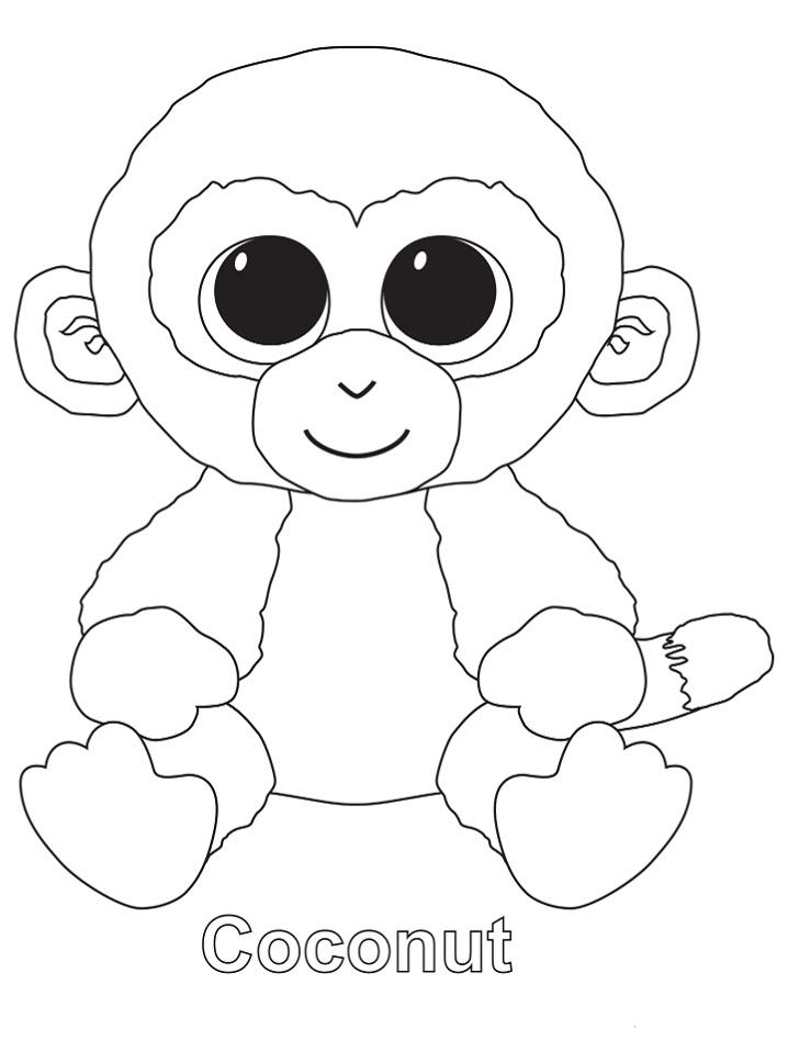 Beanie Boo Coloring