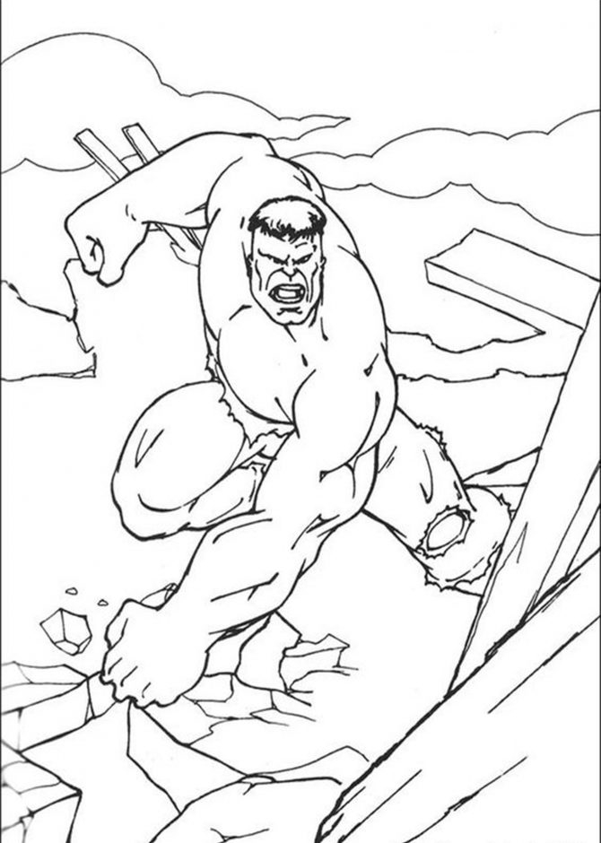 best photos free easy to print hulk coloring pages