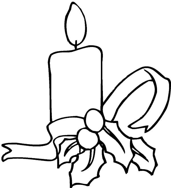 Candle Printable