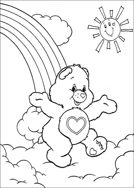 Care Bear Color Pages