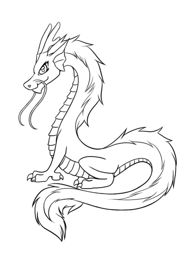 cartoon dragon download and print online
