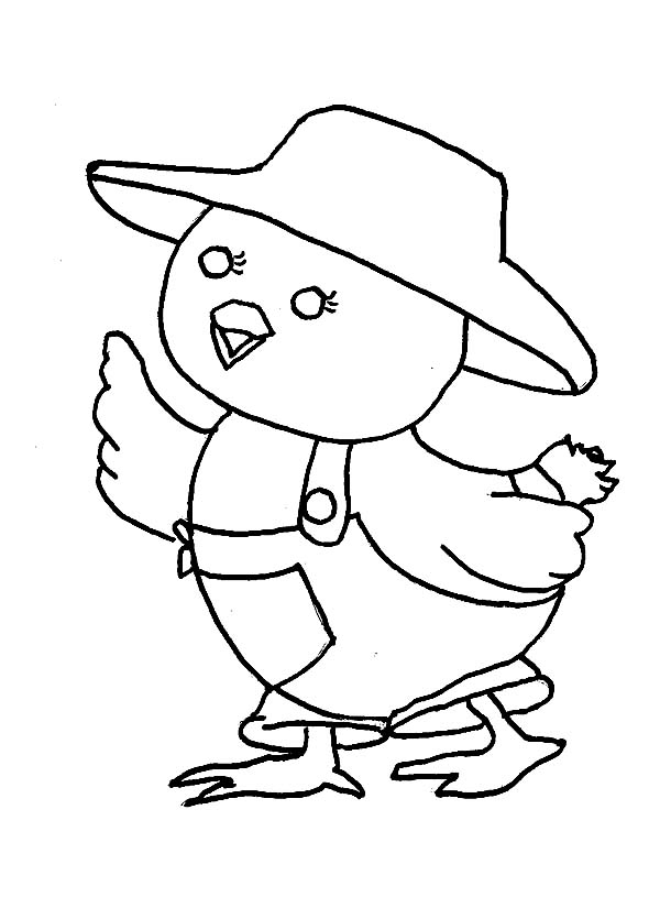 Chicky Coloring Pages