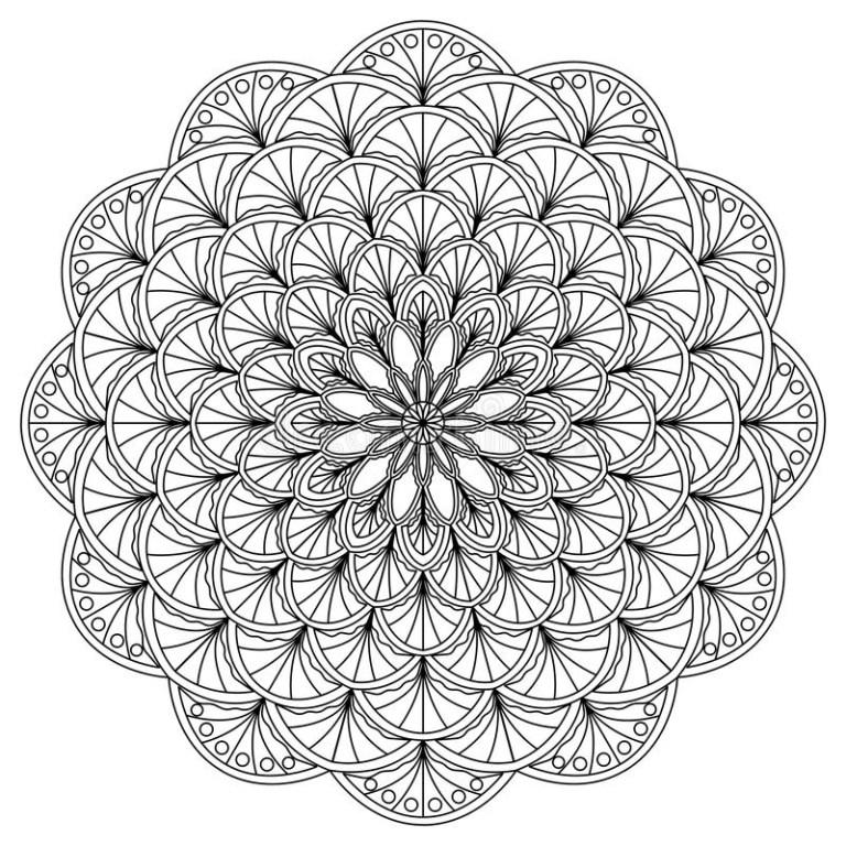 Circle Color Sheets