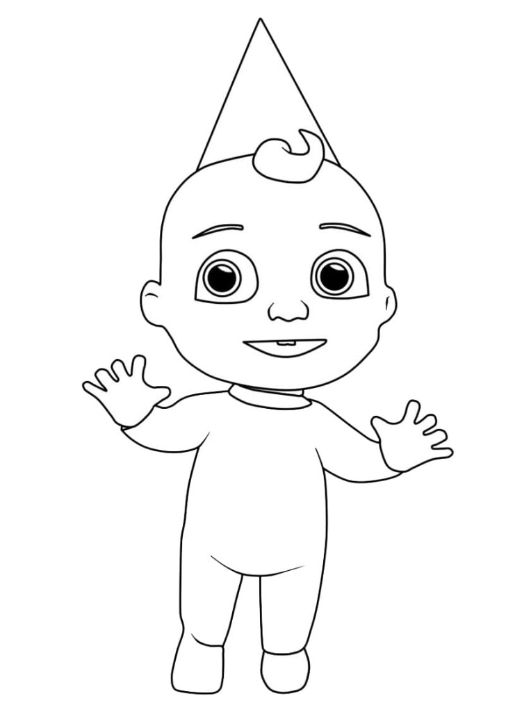 Cocomelon Printable Coloring Pages