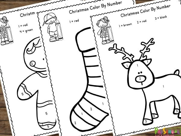 Color By Number Coloring Sheets