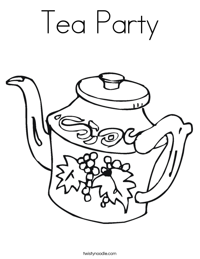 Coloring Page Cup
