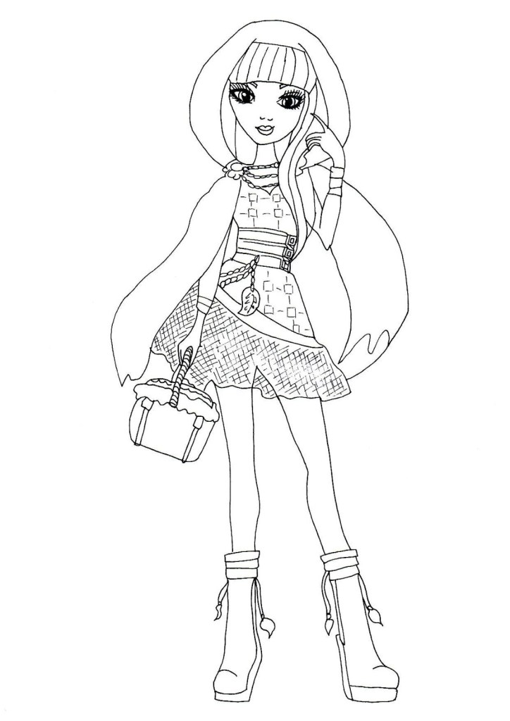 Coloring Pages Of Ever After High