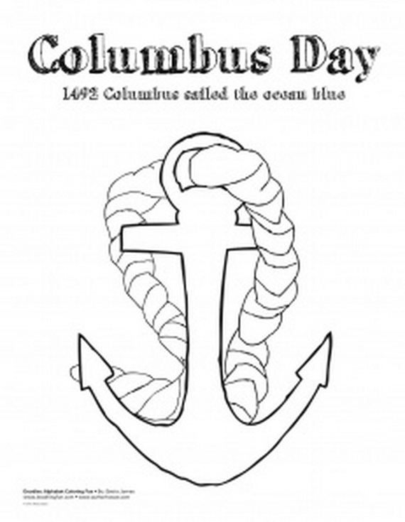 columbus day coloring pages for kids family holiday online