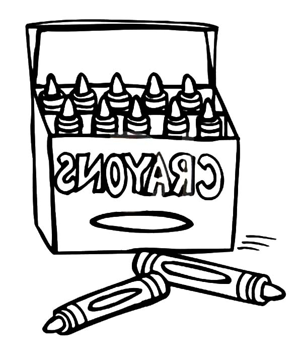 Crayon Color Printables