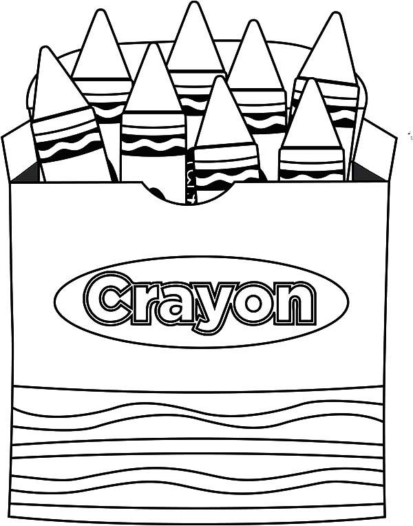 Crayon Color Sheets