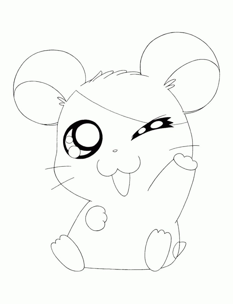 cute ba fox coloring pages for girls