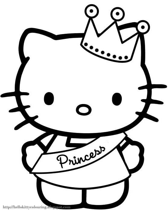 cute hello kitty princess for girls