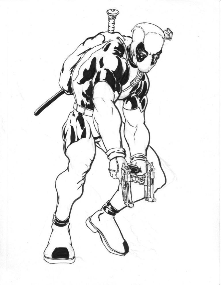 Deadpool Printable
