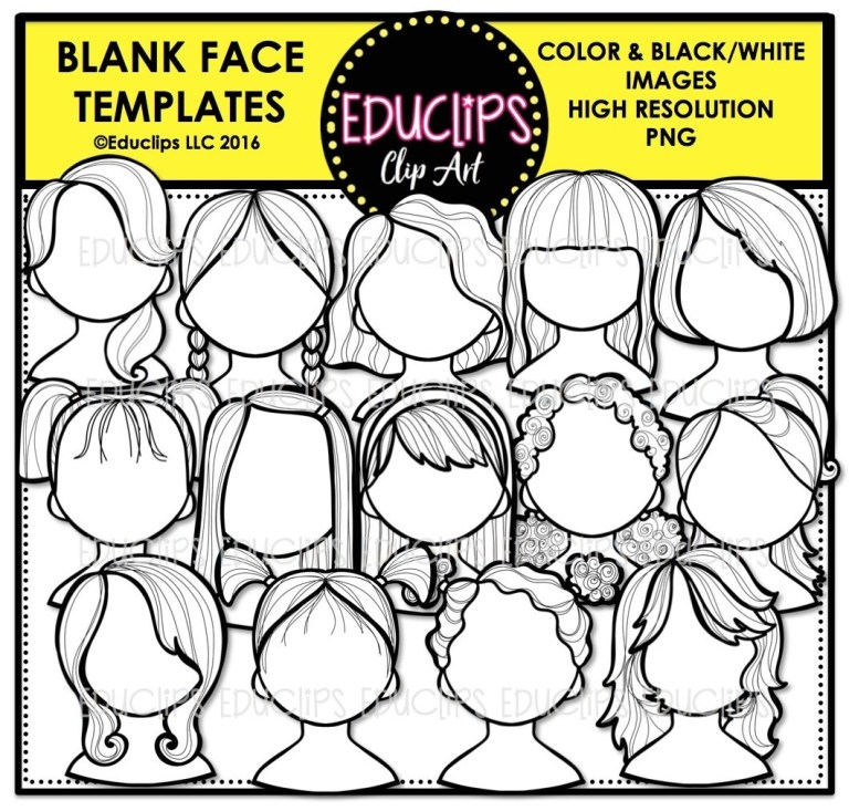Faces To Color