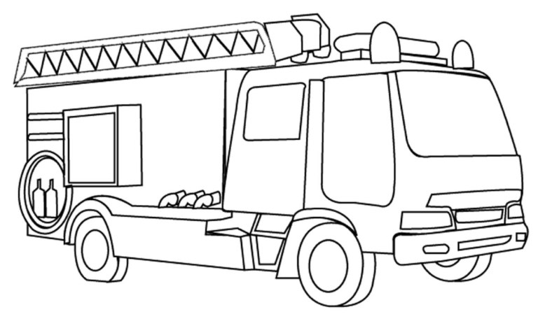 fire engine coloring pages to download and print for free truck wallpaper