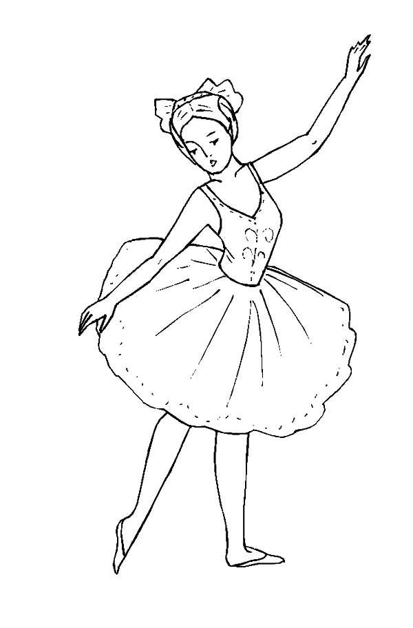 Free Ballerina Printables