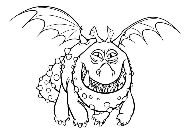 Free How To Train Your Dragon Coloring Pages