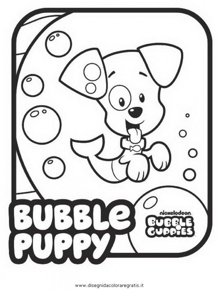 Free Printable Bubble Guppies