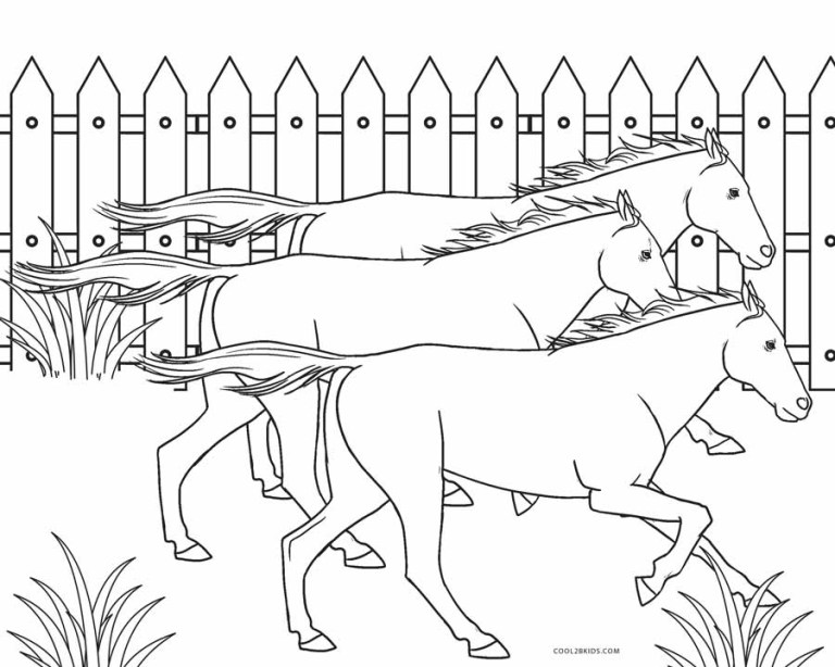 Free Printable Coloring Pages Farm Animals