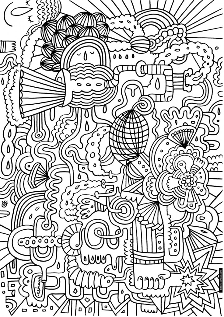 free printable free swear word coloring pages for adults