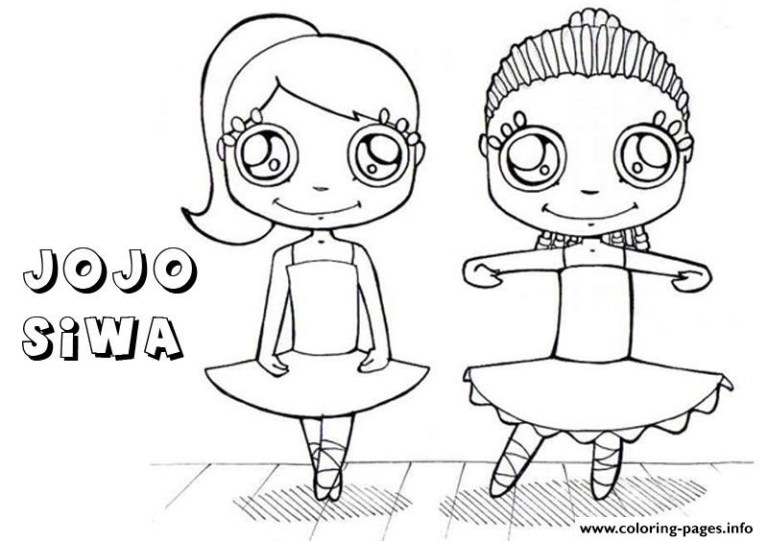 Jojo Siwa Free Coloring Pages