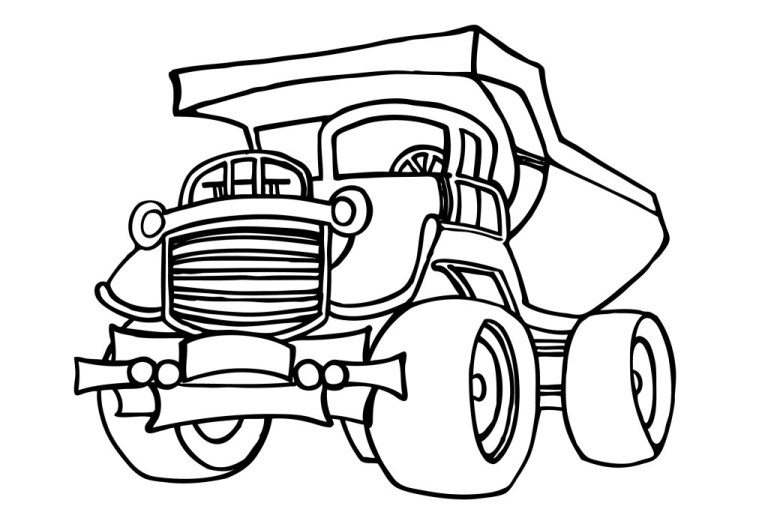 Lego Construction Coloring Pages