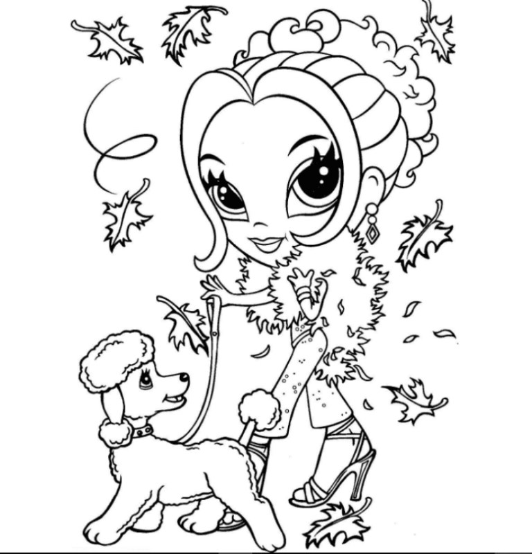Lisa Frank Cat Coloring Pages