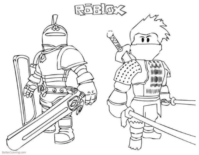 logo roblox coloring image