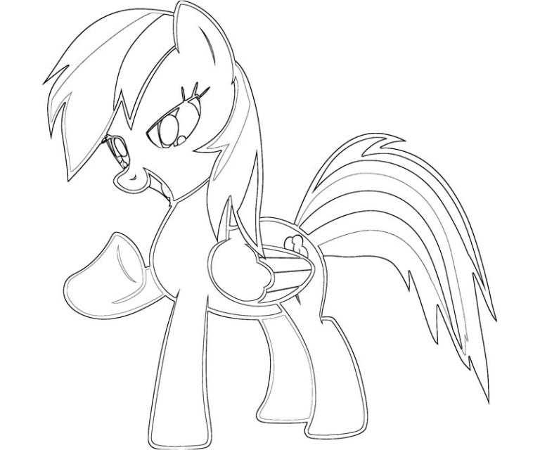 My Little Pony Pictures Rainbow Dash