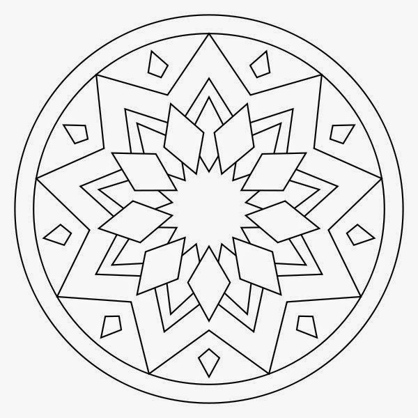 oval geometric free printable coloring online