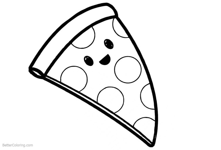 Pizza Coloring