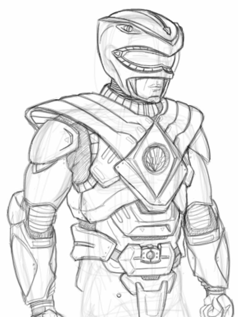 Power Ranger Coloring
