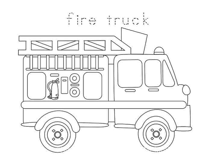 preschool fire safety booklet printables online
