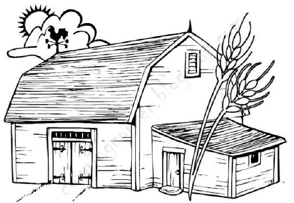 Printable Barn