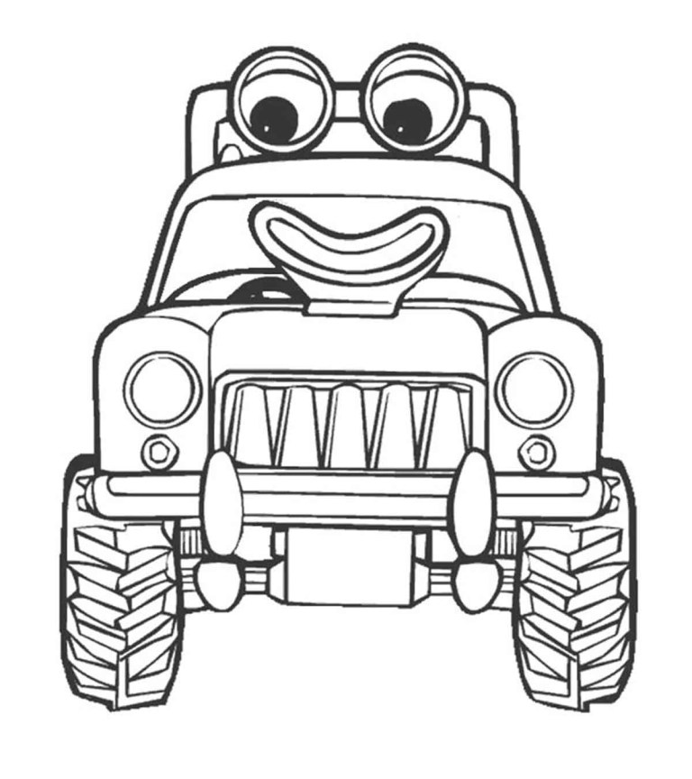 Printable Blippi Coloring Pages