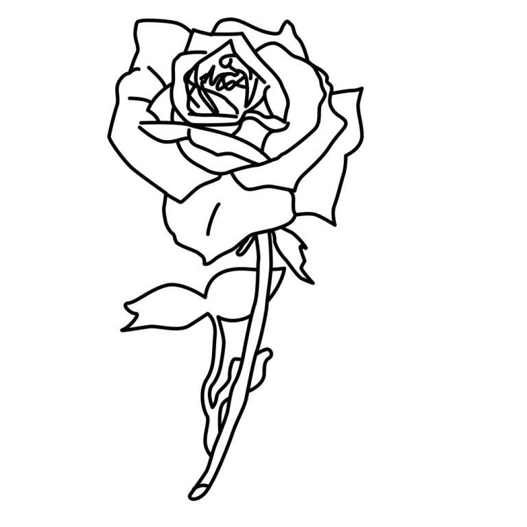 Printable Images Of Roses