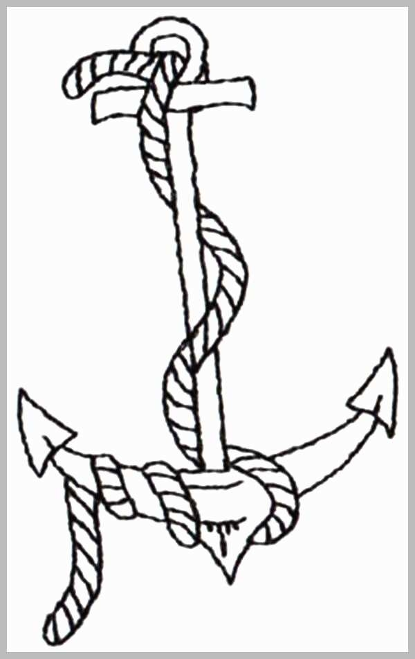 Printable Picture Of An Anchor