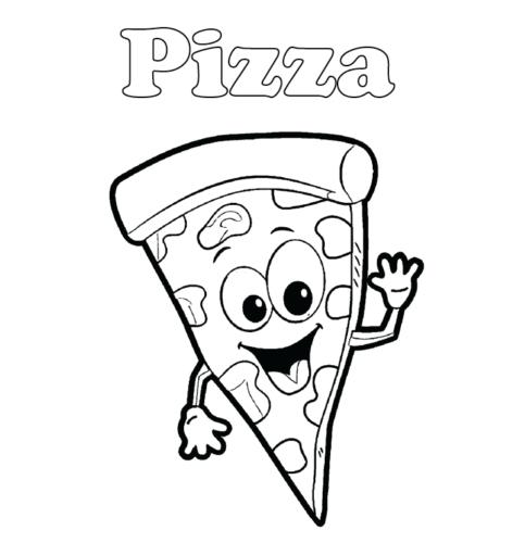 Printable Pizza Slice