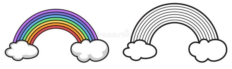Rainbow Dash Black And White