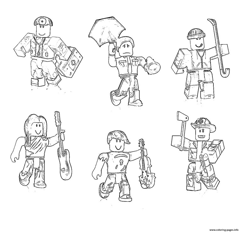 roblox characters all