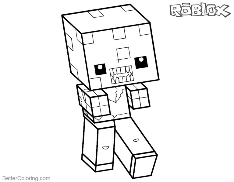 Roblox Coloring Pages To Print