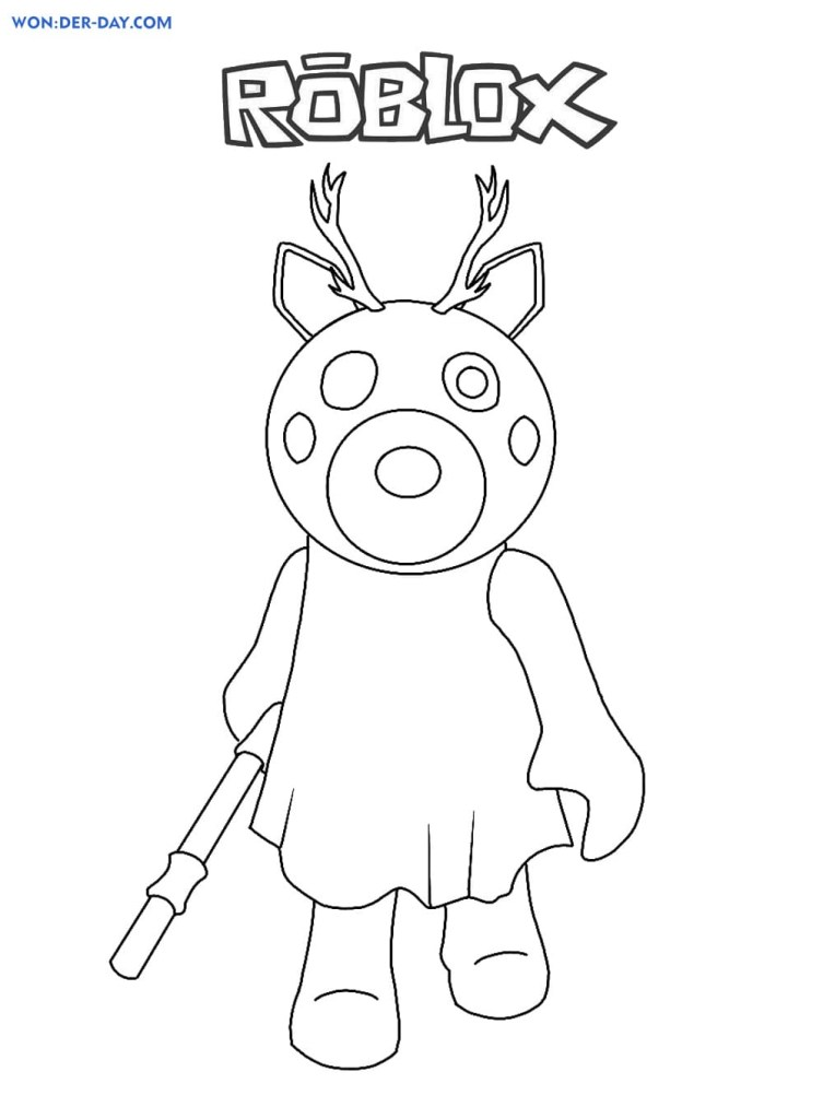 Roblox Printables Coloring Pages