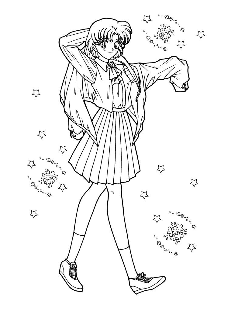 Sailor Moon Colouring