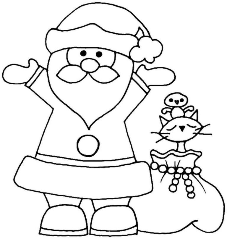 Santa Claus Coloring Sheets
