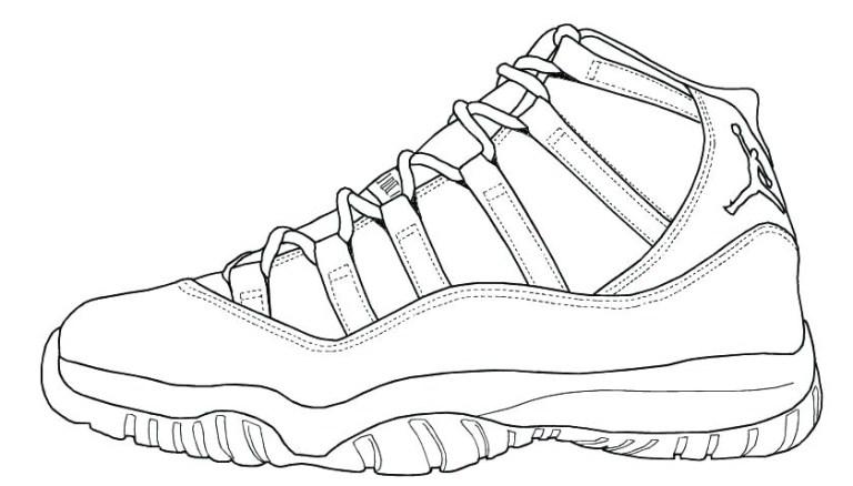 Shoe Coloring Jordans