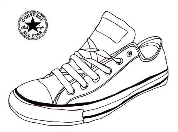 simple design jordan shoes coloring pages free downloads