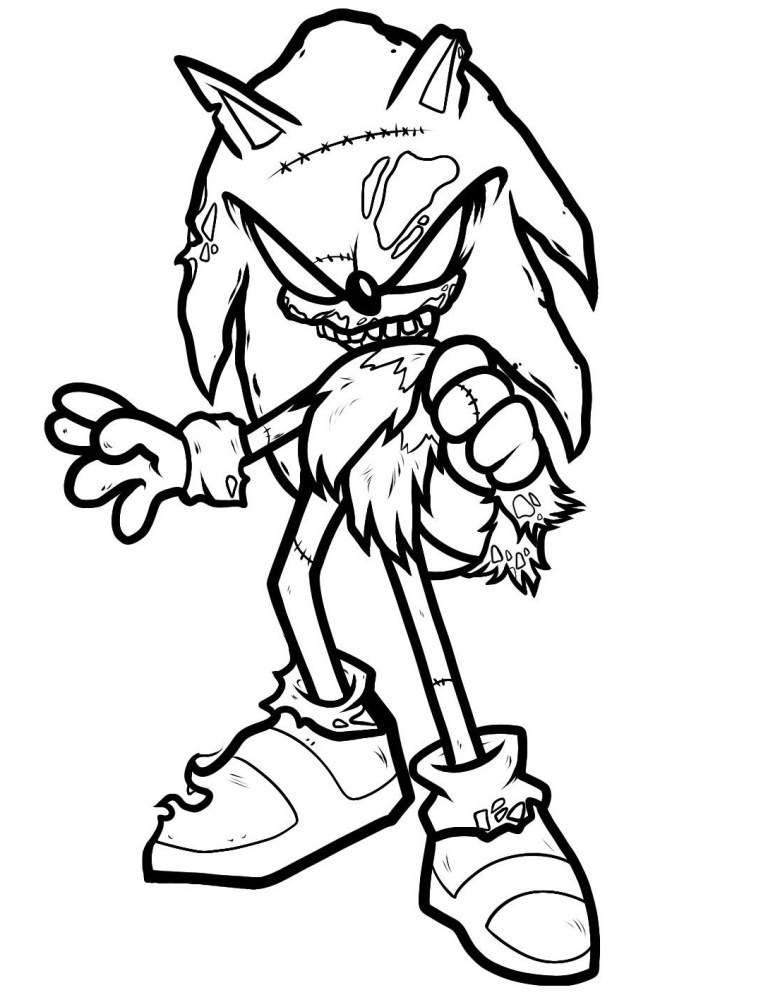 Sonic Coloring Book
