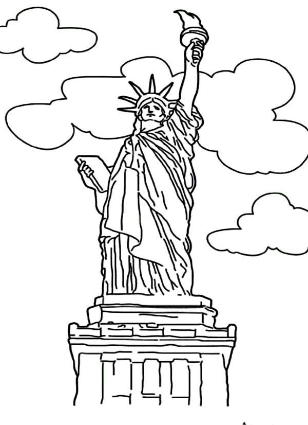 statue of liberty printable pictures