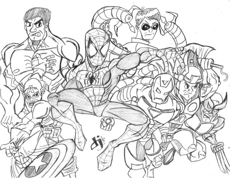 Superheroes All Avengers Characters